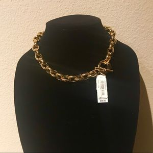 NWT RALPH LAUREN BOLD GOLD CHAIN NECKLACE